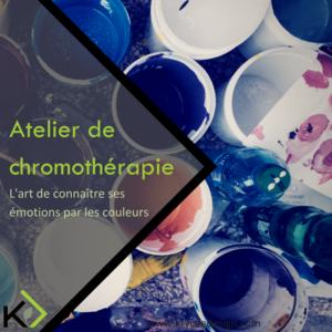 Atelier, couleurs, chromothérapie, kryceedesign, thérapie des couleurs